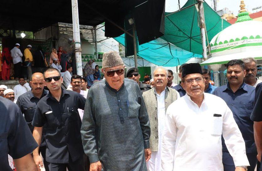 ajmer news-kashmir-issue: फारूक अब्दुल्ला बोले - यह पीएम मोदी का अच्छा कदम