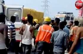 VIDEO : Road accident : ट्रेलर ने श्रमिक को मारी टक्कर, उपचार के दौरान अजमेर के अस्पताल में हो गई मौत