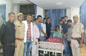 पुलिस अधिकारी से बोली पूनम 'दीदी'  जिन्होंने मेरा ये हाल किया है, उनको सजा दिलाओ