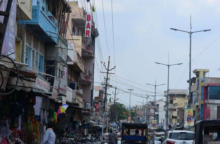 किशनगढ़ के मुख्य बाजार की विद्युत केबल होगी भूमिगत