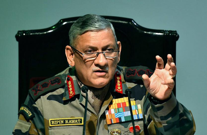 कारगिल विजय दिवस: आर्मी चीफ बिपिन रावत ने दी पाकिस्तान को चेतावनी