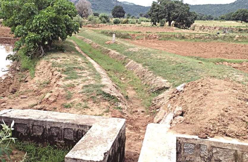 अधिकारियों व ठेकेदार के जेबों की हरियाली बढ़ाने के काम आ रहे बांध