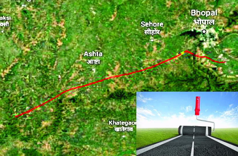 भोपाल-इंदौर एक्सप्रेस-वे : 158 हेक्टेयर जंगल के 21,146 पेड़ काटने केंद्र से मांगी अनुमति