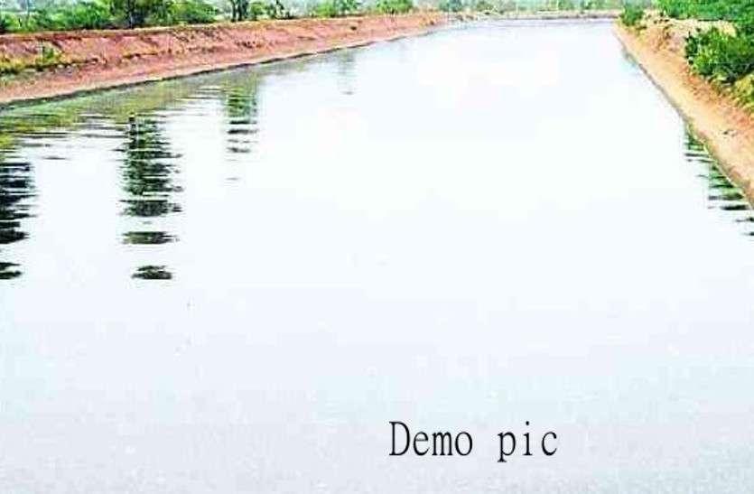 पुलिस के साथ ग्रामीणों ने किया निरीक्षण, पकड़ी नहरी पानी की चोरी