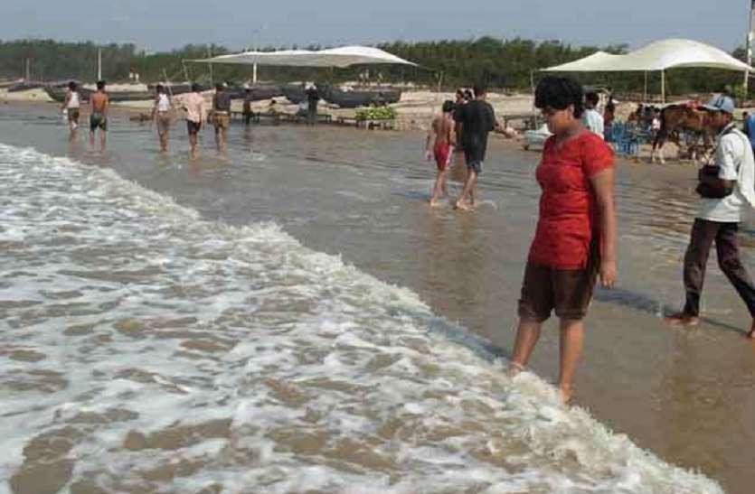 Digha : OMG ! बंगाल की खाड़ी ने दीघा मेंबदला रंग