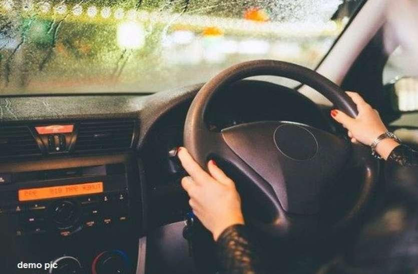 आधी रात को कार में थे युवक-युवती, पुलिस पीछे लगी तो दौड़ाई गाड़ी, पकड़ाए तो बताई ये कहानी