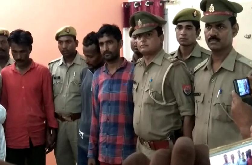 अवैध असलहा फैक्ट्री का खुलासा, पांच शातिर बदमाश गिरफ्तार