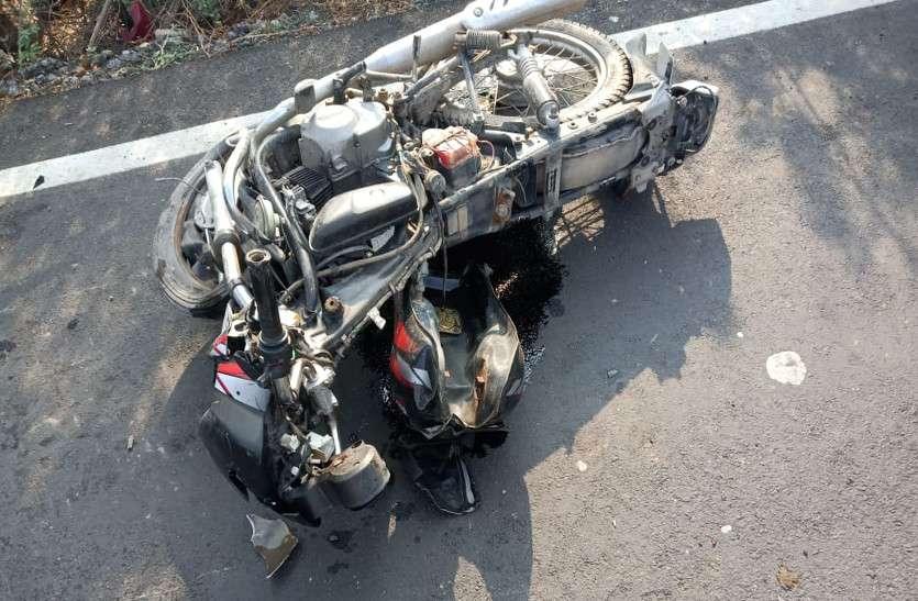 अज्ञात वाहन ने बाइक सवार दो भाईयों को कुचला, दोनों की मौके पर हुई दर्दनाक मौत, परिवार में मचा कोहराम