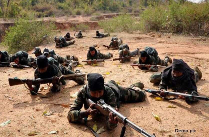 नारायणपुर में 100 से अधिक नक्सलियों ने CAF कैंप पर बोला हमला, गोलीबारी में एक जवान शहीद