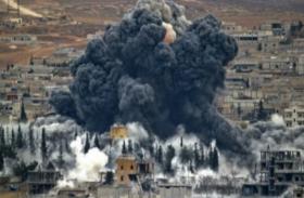 सीरिया: सैन्य बलों ने विद्रोही ठिकानों पर किए बम धमाके, 10 नागिरकों की मौत