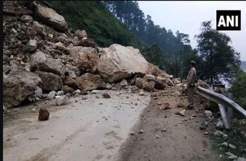 Land Slide: चट्टान गिरने से 4 कावड़ियों की मौत, 8 घायल