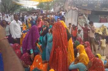 राजस्थान सरकार ने की घोषणा, बिजली हादसे में मृत सतीश के परिवार को 5 लाख की सहायता