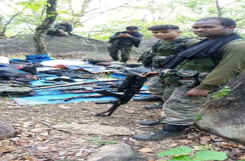 माचकोट के जंगल में हुई मुठभेड़ जिसमें मारे गए 7 नक्सली, पढि़ए घटना से जुड़ी 10 बड़ी बातें
