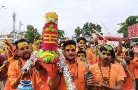 Kawad Yatra : कांवड़ यात्रा में दिखी आस्था और संस्कारों की झलक : देखें फोटो