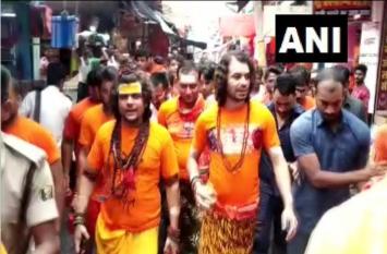 तेजप्रताप ने 'बाबा धाम' में की पूजा, भगवान शिव से मांगा यह सियासी वरदान