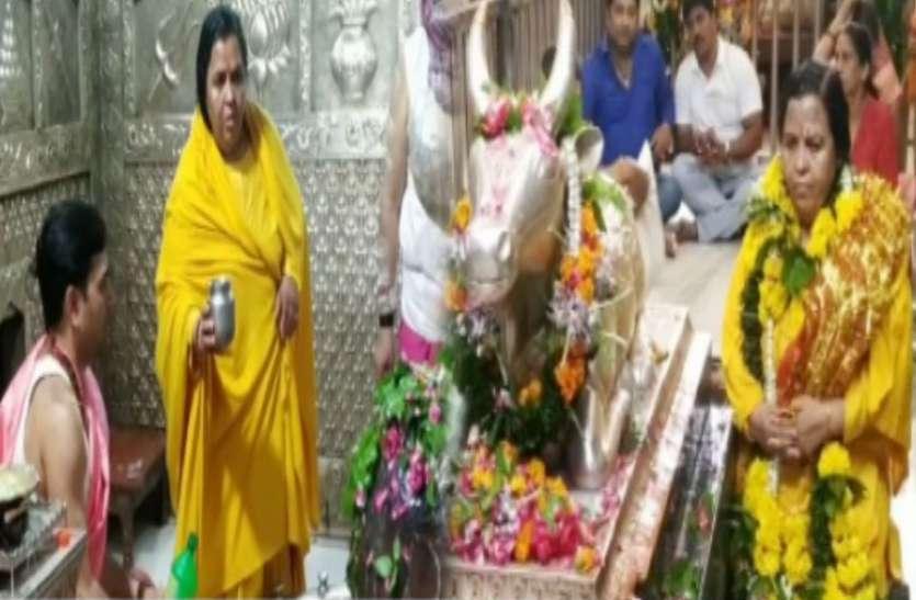 उमा भारती ने कहा- उनके कहने पर मैं साड़ी पहनने को भी तैयार, महाकाल के पुजारी युद्ध कला में भी पारंगत हैं