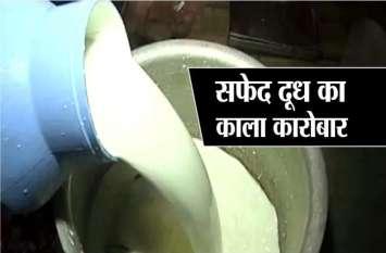 जिस दूध में मिली माल्टोज डेक्सट्रिन की ज्यादा मात्रा, होशंगाबाद में उसी दूध की फोहरी जांच