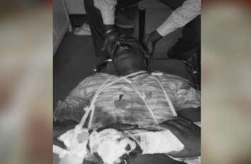 बाइक और कार सवार लोगों ने पूर्व प्रधान साहबदीन की पीट-पीटकर हत्या कर दी, अभी तक पुलिस को तहरीर तक नहीं मिली