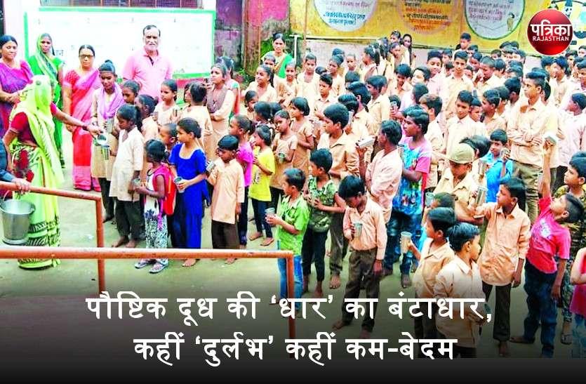 अन्नपूर्णा दुग्ध योजना : सरकारी स्कूलों में दूध की यही कहानी, कहीं कम दूध का वितरण तो कहीं दूध में ज्यादा पानी