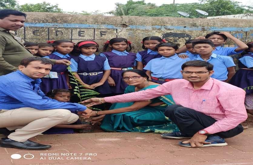 फोटो गैलरी :महापौर देवेंद्र यादव हरेली पर्व पर आसपास के क्षेत्रों में पौधारोपण किया गया है !
