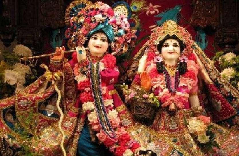 Lord krishna play cricket: भक्तों में उत्साह, मथुरा-वृंदावन में लड्डू गोपाल लगा रहे चौके-छक्के