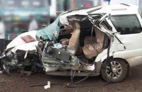 खुनी रस्ते ने ली एक और जान, खड़े ट्रक से टकराई सफारी, महिला की मौके पर ही मौत