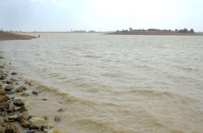 havey rain news : MP में भारी बारिश के बाद भी जिले के 33 में से 9 तालाबों में नहीं पहुंचा 10 प्रतिशत पानी