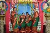 हरियाली तीज पर महिलाओं में हरे लिवास में मनाया महोत्सव