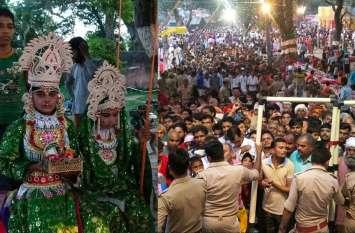 राम नगरी अयोध्या में शुरू हुआ झूलोत्सव का उल्लास