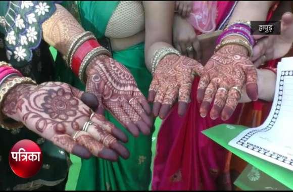 VIDEO: Hariyali Teej 2019: हरियाली तीज पर सुहागिनों ने पहनी हरी साड़ियां, चारो तरफ दिख रही रौनक