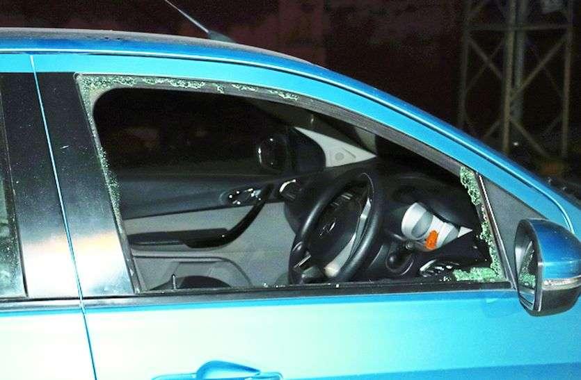 Loot In Ajmer : पहले कार के टक्कर मारी, फिरकांच तोड़ उड़ा ले गए 4.60 लाखरुपए