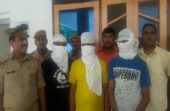 स्वर्ण व्यवसायी पर जानलेवा हमले के मामले में तीन अपराधी गिरफ्तार