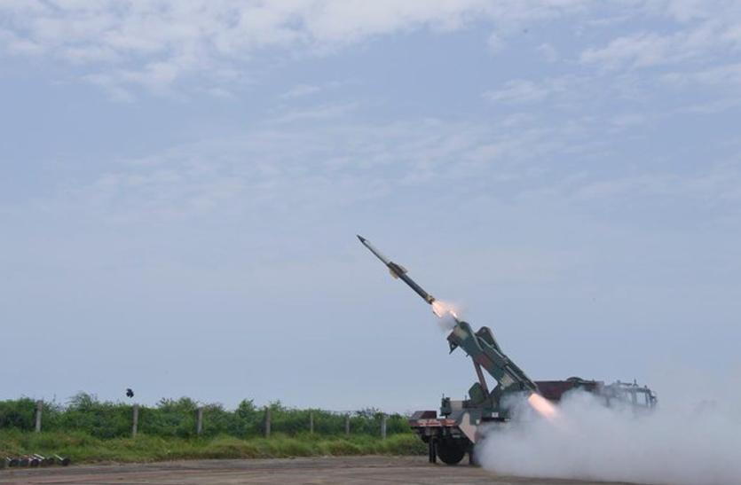 भारत ने किया QRSAM मिसाइल का सफल परीक्षण, जानिए क्या है इसकी खासियत जो घबरा रहा हैं पडोसी दुश्मन!