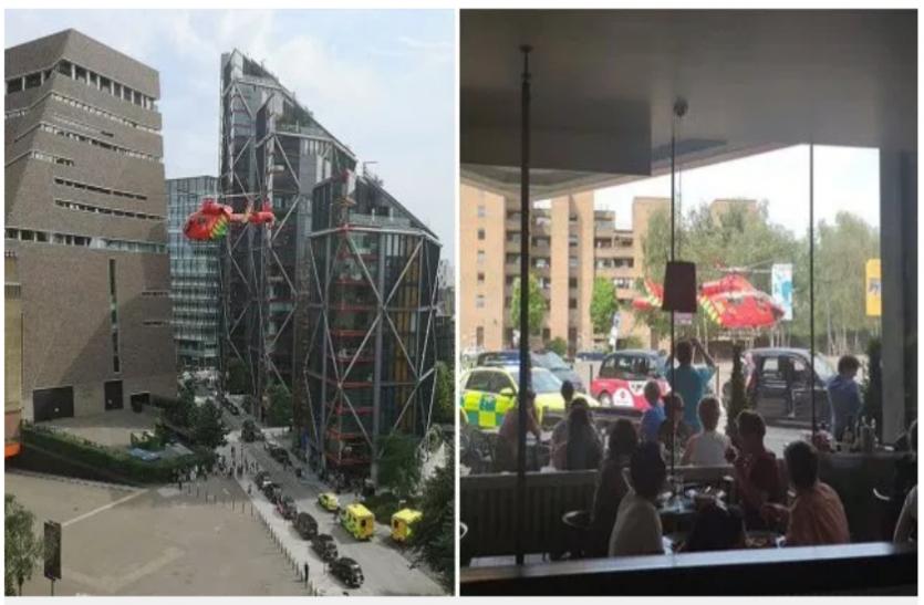 लंदन: टेट मॉडर्न में 10 वीं मंजिल से एक किशोर ने 6 साल के बच्चे को फेंका, गिरफ्तार