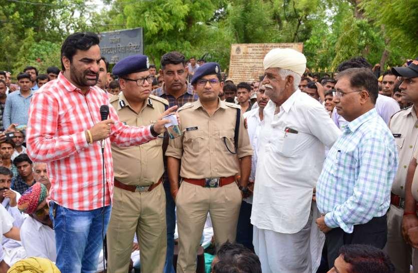 नागौर पहुंची सीआईडी- सीबी की टीम, आज लेगी बयान, नागौर पुलिस ने सौंपी फाइल