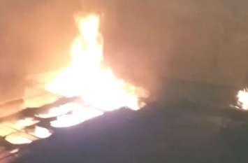 रात में Blast से दहला यूपी का ये शहर, मची अफरा-तफरी, पुलिस वाले घायल