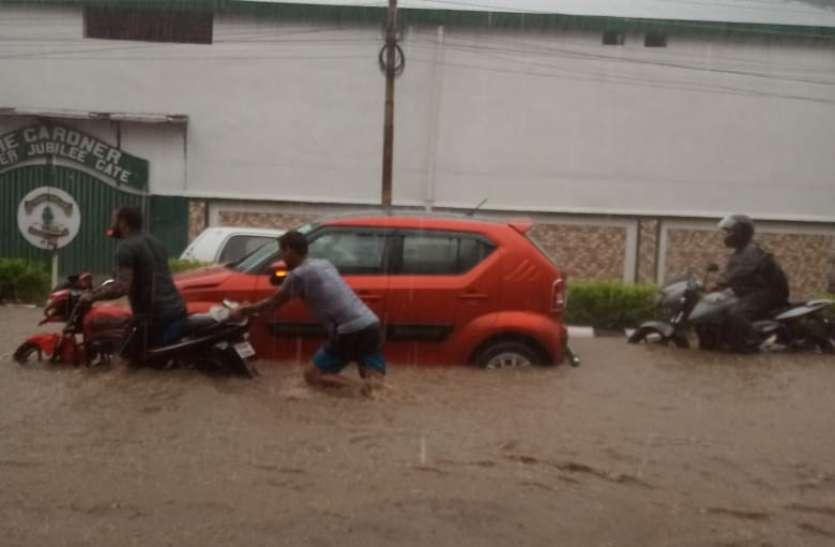 Heavy rainfall: उत्तराखंड में भारी बारिश, नदियां उफान पर