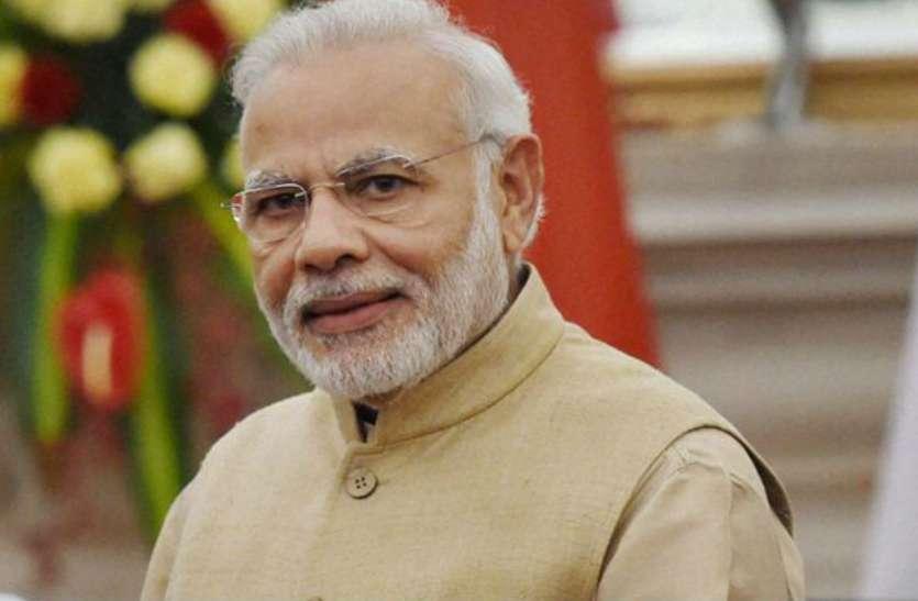 शिवराज बोले- नेहरू की भूल को मोदी ने सुधारा, नरेन्द्र मोदी भारत को भगवान का वरदान