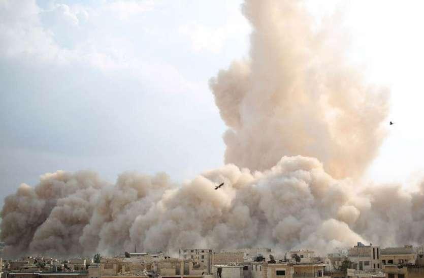 सीरिया: सैन्य हवाई अड्डे पर भयंकर विस्फोट, सात अधिकारी समेत 26 की मौत