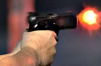 थोक व्यापारी को घायल कर की फायरिंग,दहशत का माहौल, देखें वीडियो