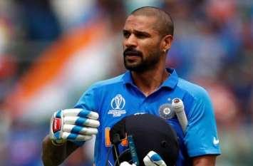 शिखर धवन हो सकते हैं टीम इंडिया से बाहर!, 3 मैचों में बनाए 27 रन