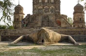 ओयल में स्थित मेढक मंदिर के प्रति लोगों में रहती है अपार आस्था