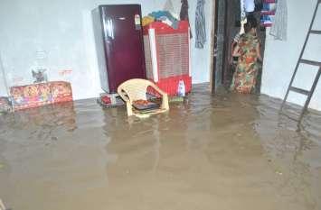Heavy Rain in Sehore  : बाढ़ से सीहोर के सात श्यामपुर के डेढ़ हजार घरों में भरा पानी, दस करोड़ की मिलेगी आर्थिक मदद