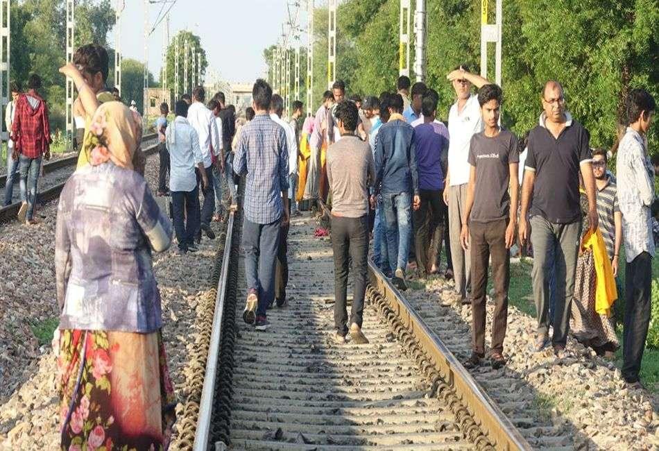 सोनीपत की दो युवतियों ने दौसा में ट्रेन के आगे कूद कर दी जान