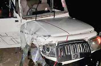 बेटे को बिलासपुर छोड़कर बोलेरो से लौट रहा था परिवार, आधी रात सड़क हादसे में बेटी की दर्दनाक मौत, पिता-पुत्र की हालत नाजुक