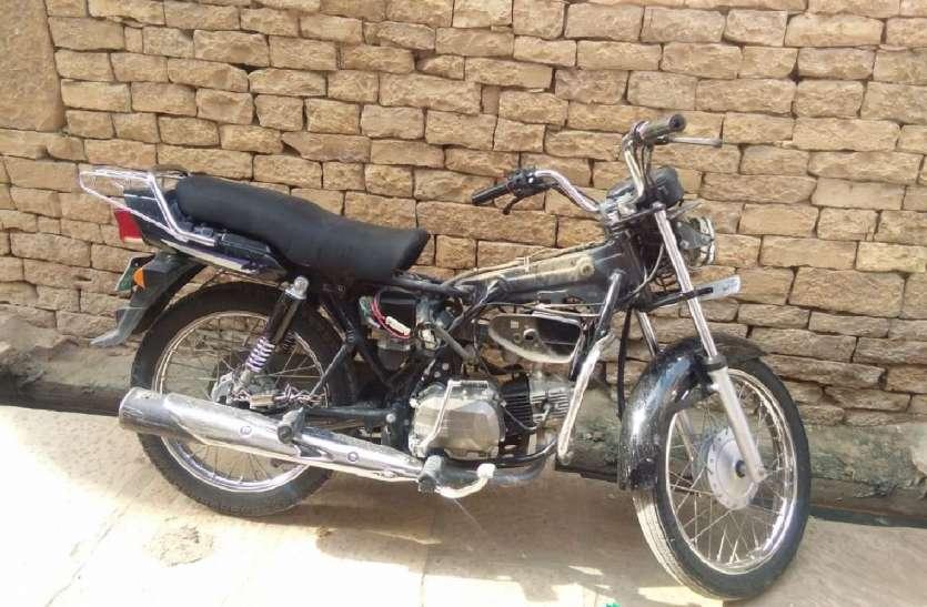 JAISALMER:चोरों के हौसले बुलंद,पुराने शहर से एक बाइक चोरी,दूसरी का सामान उड़ाया