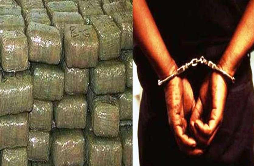 Smuggler arrested : कॉन्सटेबल ने तस्कारों से मिलाया हाथ, मालखाने से पांच किलो चरस की पार