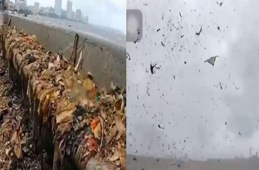 समुद्र की लहरें उगल रही हैं कचरा, आपको परेशान कर देगा ये वायरल वीडियो
