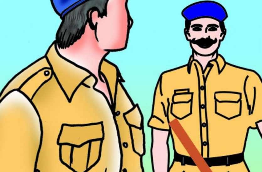 Social media- यह पुलिस अफसर डंके की चोट पर करता है अफसरों की अनदेखी