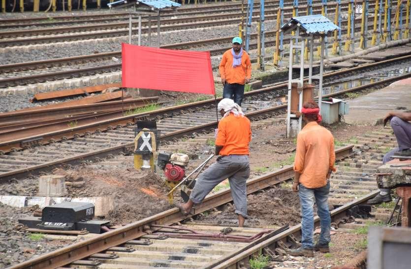 Railway, हटाई गई साइडिंग, बढ़ी प्लेटफार्म क्रमांक एक की लंबाई